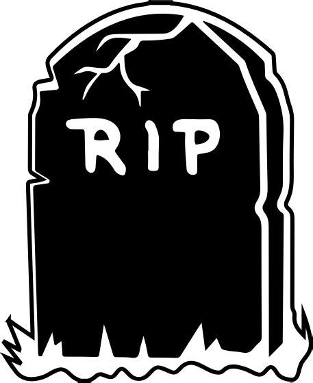Rip Gravestone Clipart