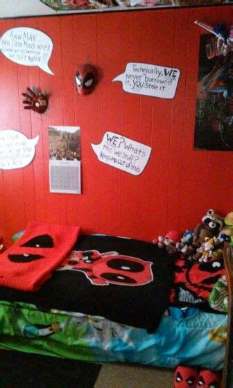 Deadpool Bedroom by 1000 Images About The Deadpool Bedroom On We