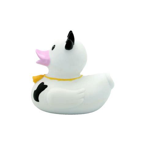 cow black white rubber duck buy premium rubber ducks