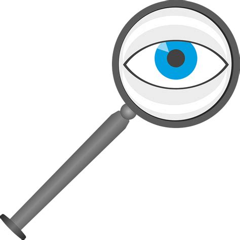 ver imagenes png en ubuntu lupa ojo lente 183 gr 225 ficos vectoriales gratis en pixabay