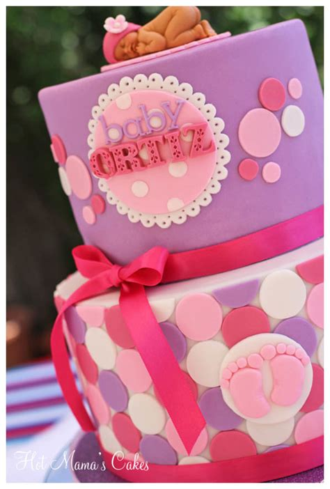 Polka Dots Baby Shower by Polka Dot Baby Shower Cakecentral