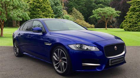 Jaguar Blue used jaguar xf r sport d 180 blue yl66wdz