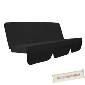 black water resistant bench cushion for outdoor swing hammock garden seat pad ebay