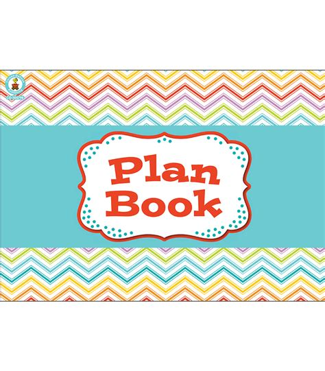 Cd E Book Planning And Crowns And Bridges chevron plan book plan book by carson dellosa cd104798 lesson plan books and