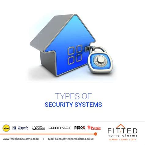 types of security systems fitted home alarms