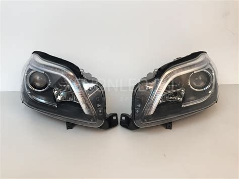 mercedes headlights mercedes benz gl class x166 2012 ahl xenon headlights