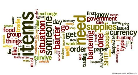 Bartering For Stuff Or Services by To Live By When Bartering After Disaster Survivopedia