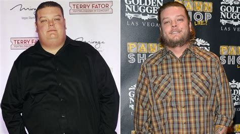 big hoss weight loss pawn stars 192 pound weight loss see how pawn star shed