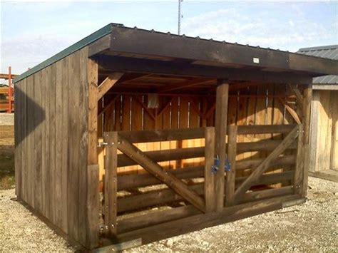 Shed For Goats by Goat Shelter Barns