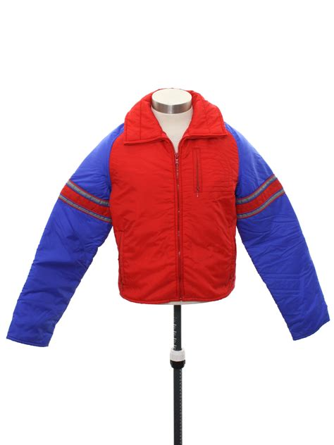 80s ski wear 80 s ossi ski wear jacket 80s ossi ski wear boys red