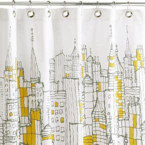 city scape shower curtain cityscape shower curtain premier bathtubs