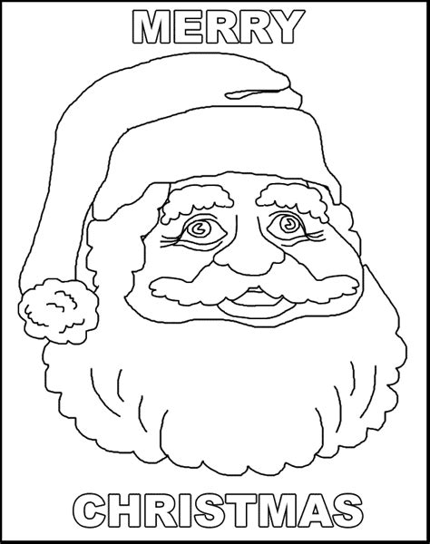 Free Coloring Pages Of Merry Christmas Merry Coloring Pages