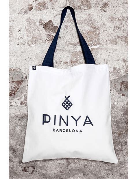Mtd Store Cotton Shopping Bag cotton canvas tote bag pinya barcelona