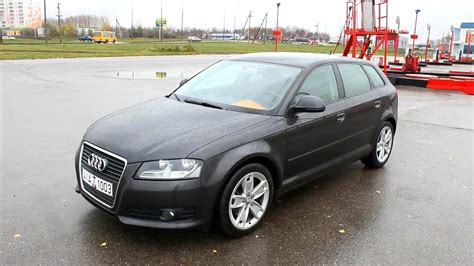 Audi A3 P8 by 2009 Audi A3 Sportback 8p Start Up Engine And In