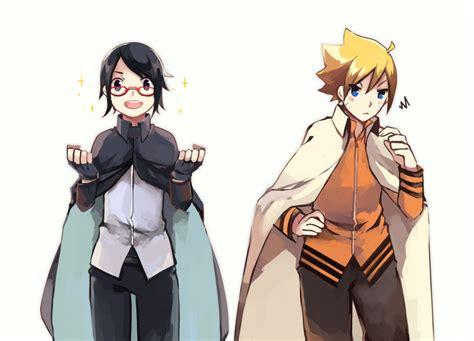 Kaos Uzumaki Boruto sarada make kostum sasuke boruto make kostum