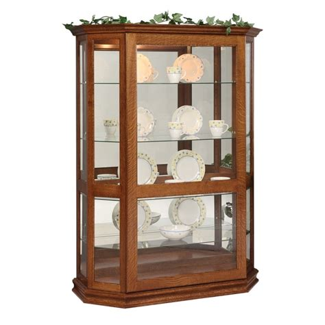curio with sliding glass door small curio with sliding door country lane furniture