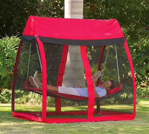 covered hammock bed mosquito thwarting hammock the green head