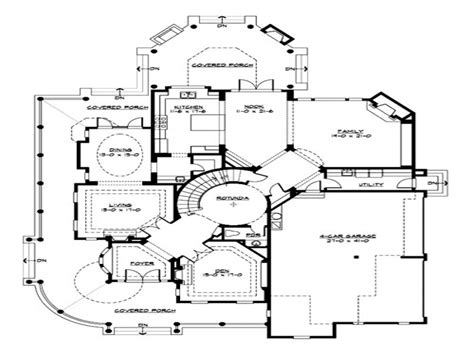 Unique Small Home Floor Plans | small luxury house floor plans unique small house plans