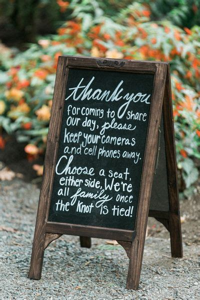 Wedding Ceremony No Phones by 25 Best Ideas About No Cell Phones On Wedding