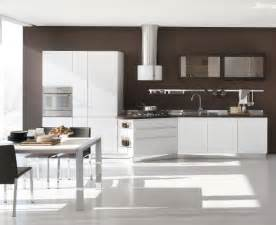Modern White Kitchen Designs New Modern Kitchen Design With White Cabinets Bring From