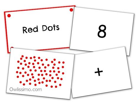 Math Dot Card Templates by Shichida 63 Day Math Program Faqs