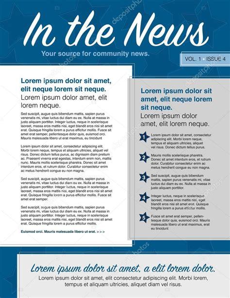 layout para newsletter boletim informativo de layout de p 225 gina para uso com
