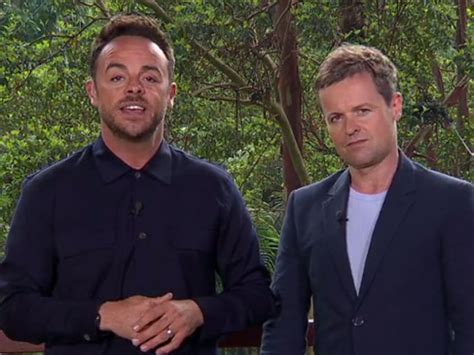 declan donnelly hair transplant i m a celebrity 2017 fans think declan donnelly has had