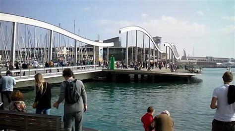 mirador wtc barcelona spain port de barcelona mirador de colom