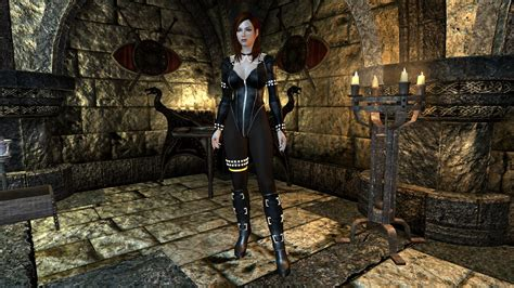 hdt body skyrim dead or alive tina outfit awesome skyrim mods