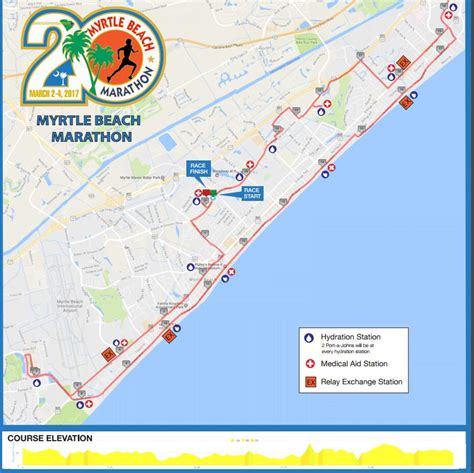 map of myrtle marathon running a sub four marathon myrtle marathon brian s running adventures