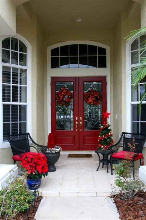 front door entrance decorating ideas christmas decor for the front door doors by design