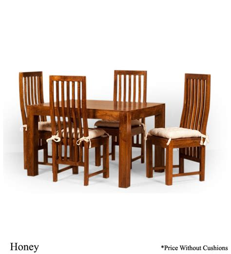 comfortable dining sets stylishly comfortable four seater dining set by mudra
