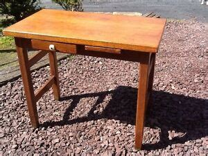 Wood Student Desk With Drawers by Vintage Antique Wood Student School Desk 1 Drawer 1