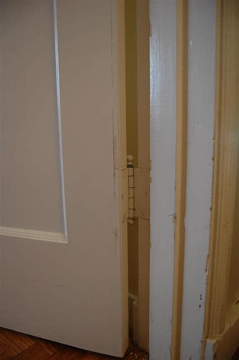 How To Move A Through A Door by Repair How Do I Move A Door Hinge Out 1 8 Quot Door Is