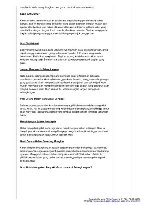 Salep Fungasol pengobatan gatal jamur kulit menahun