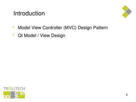 design pattern qt qt item views in depth