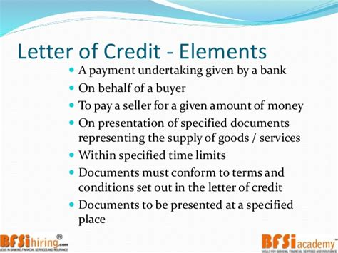 Trade Finance And Letter Of Credit Trade Finance Letter Of Credit