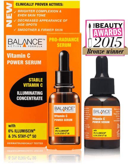 Vitamin C Serum Active Ingredients balance cosmetics active formula vitamin c power serum 30