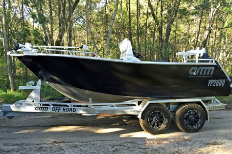 on a boat off off road no longer off limits for amm boat trailers