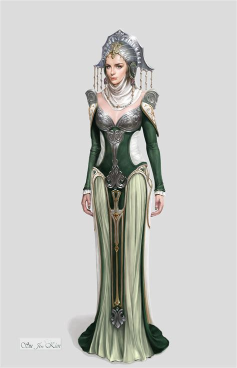 Thesa Dress By Naura 4warna Gamis artstation high priestess soo jin gloria