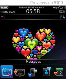 Tema Blackberry 1 temas para blackberry por el d 237 a de san valentin