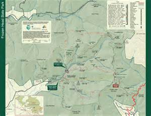 state park maps frozen state park tennessee state parks