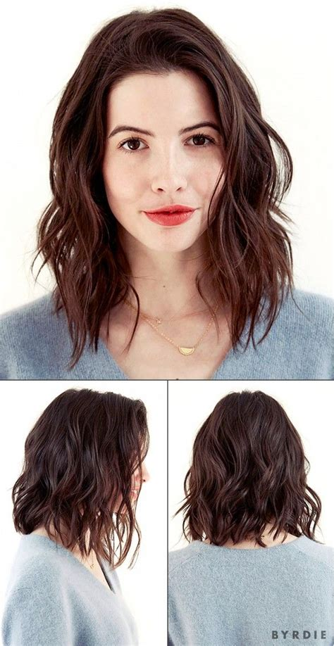 modern lob haircut you voted and the results are in our editor s new haircut
