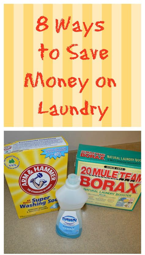 8 Tips For Saving Money On Utilities 8 ways to save money on laundry