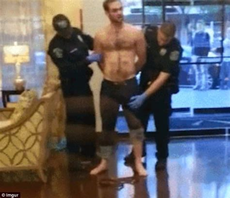 men showing in public video shows policeman mistaking man s penis for a weapon