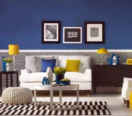 royal blue living room have fun with blue and yellow rooms ac design