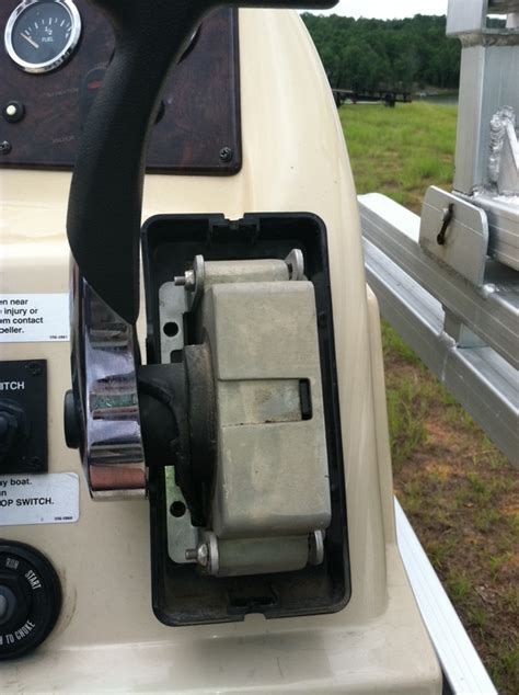 center console boats that start with b mercury control box throttle friction adjustment question