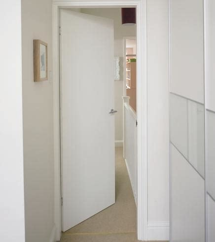 Plywood Internal Doors Soundproof And Fire Interior Plain White Interior Doors