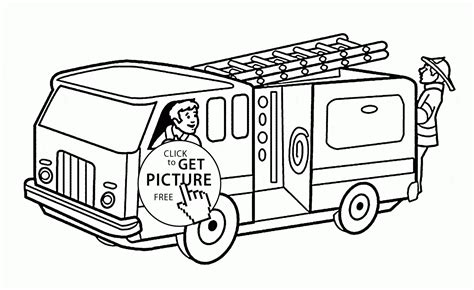 free coloring pages fire truck printable 93 firetruck coloring page fire truck free printable