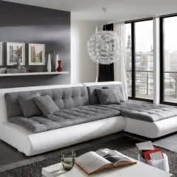 grau weiß wohnzimmer gem 252 tliche innenarchitektur einrichtungsideen wohnzimmer